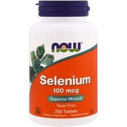 NOW Selenium 250 таблетки