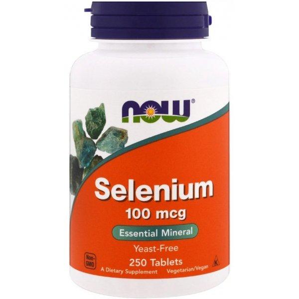 NOW Selenium 250 таблеткиNOW1482
