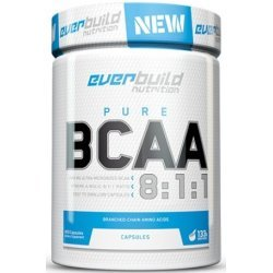 EVERBUILD BCAA 8:1:1 800 мг 400 капсули