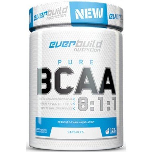 EVERBUILD BCAA 8:1:1 800 мг 400 капсулиEB6631