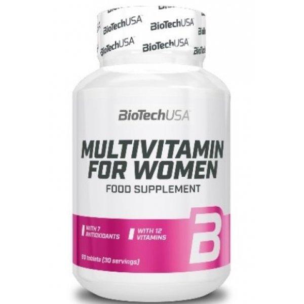 Biotech Multivitamin for Women 60 таблеткиBT402