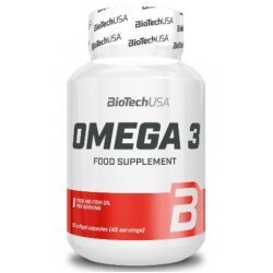 BIOTECH USA Omega 3 1000 mg 90 капсули