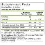 Pure Omega 3 Fish Oil 50 дражетаPN17552