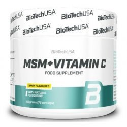BIOTECH USA MSM with Vitamin C 150 гр