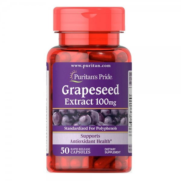 Puritan's Pride Grape Seed Extract 100 мг 50 капсулиPP1069