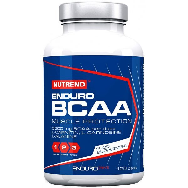 Nutrend ENDURO BCAA 120 капсулиNutrend ENDURO BCAA 120 капсули