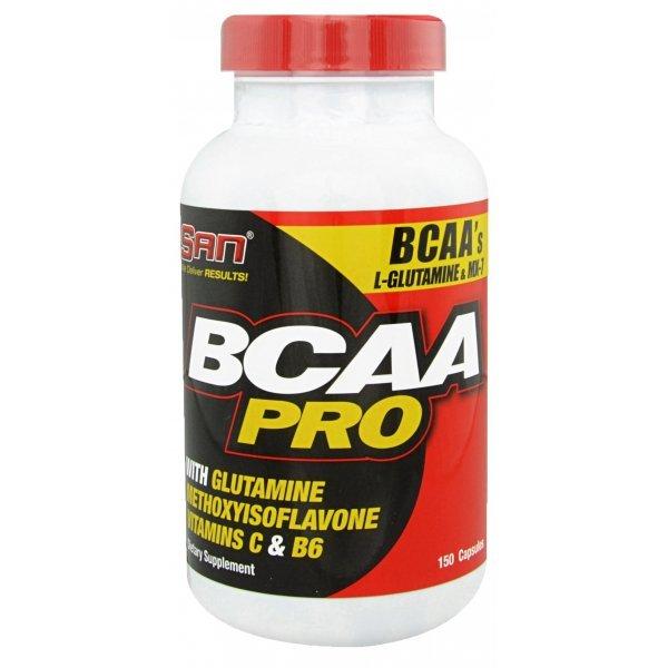 SAN BCAA PRO 150 капсулиSAN BCAA PRO 150 капсули