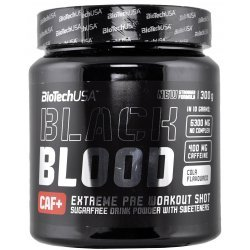 BIOTECH USA Black Blood CAF+ 300 гр