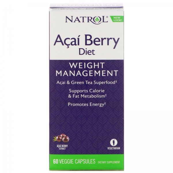 Natrol Açaí Berry Diet 60 капсули NAT342