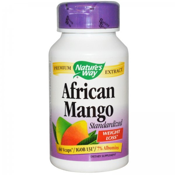 Nature's Way African Mango 250 мг 60 капсули15847