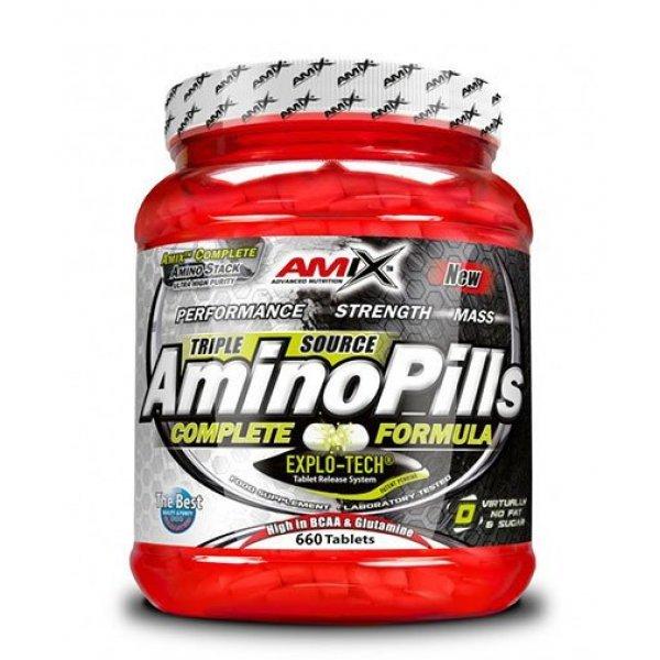 AMIX Amino Pills 660 таблетки AM102