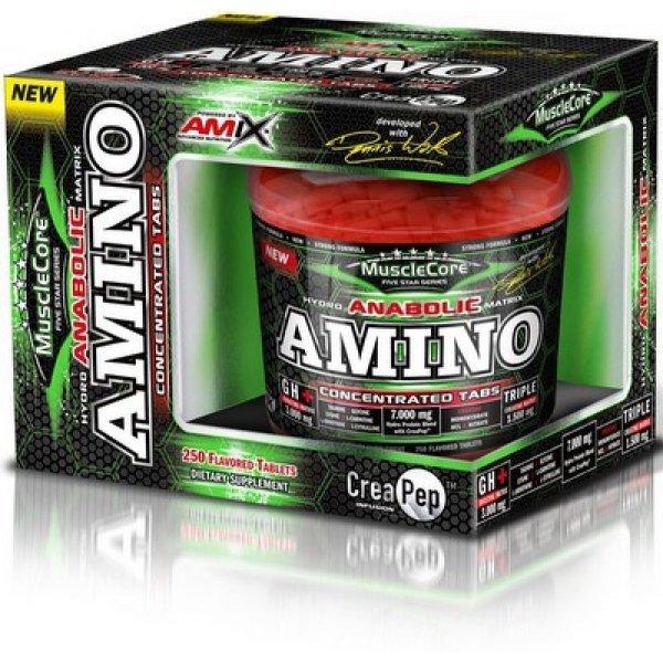 AMIX Anabolic Amino with CreaPep 250 таблеткиAM17