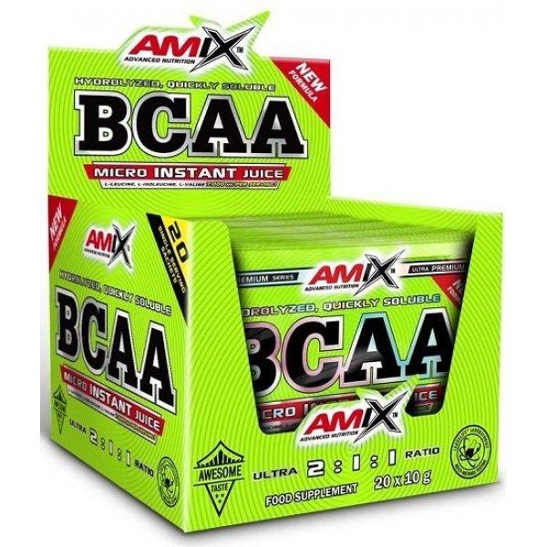 AMIX BCAA Micro-Instant Juice Sachets 20 сашетаAM124
