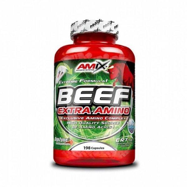 AMIX Beef Extra Amino 198 капсули AM129