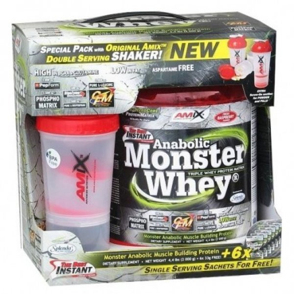 AMIX Anabolic Monster Whey ® 2200 грAM107
