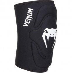 Наколенки Venum Kontact Lycra/Gel Knee Pads, черен/бял