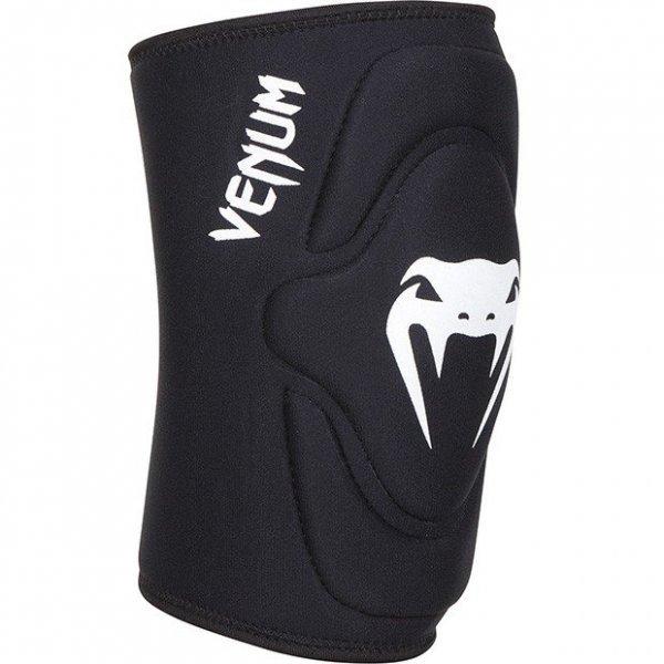 Наколенки Venum Kontact Lycra/Gel Knee Pads, черен/бялKontact Lycra/Gel Knee Pads Black Venum