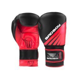Боксови Ръкавици Training Series Impact Bad Boy, Черен/Червен