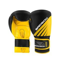 Боксови Ръкавици Training Series Impact Bad Boy, Черен/Жълт