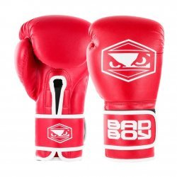 Боксови Ръкавици Strike Bad Boy, Червен