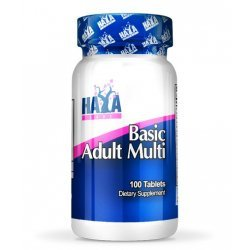 Haya Basic Adult Multivitamin 100 таблетки