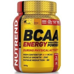 Nutrend BCAA Energy Mega Strong 500 мг