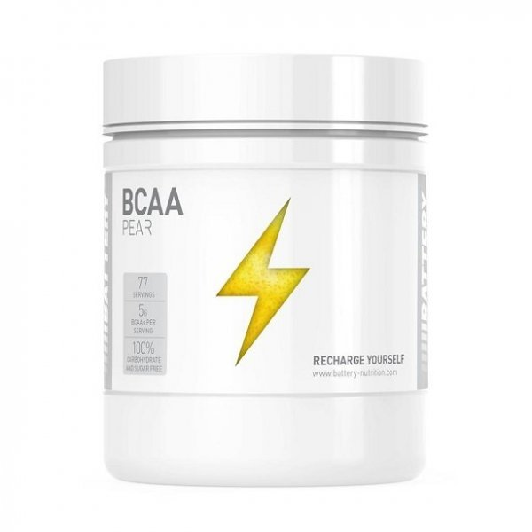 Battery BCAA Powder Unflavoured 500 грBTN9