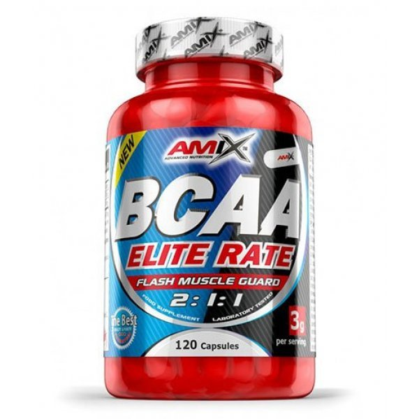 AMIX BCAA Elite Rate 120 капсулиAM113