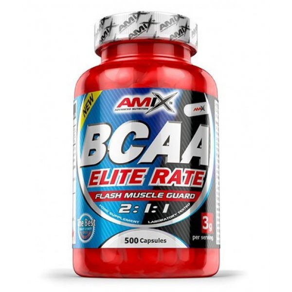 AMIX BCAA Elite Rate 500 капсулиAM116