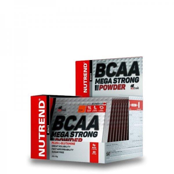 NUTREND BCAA MEGA STRONG POWDER 20 бр х 10 грNU31025