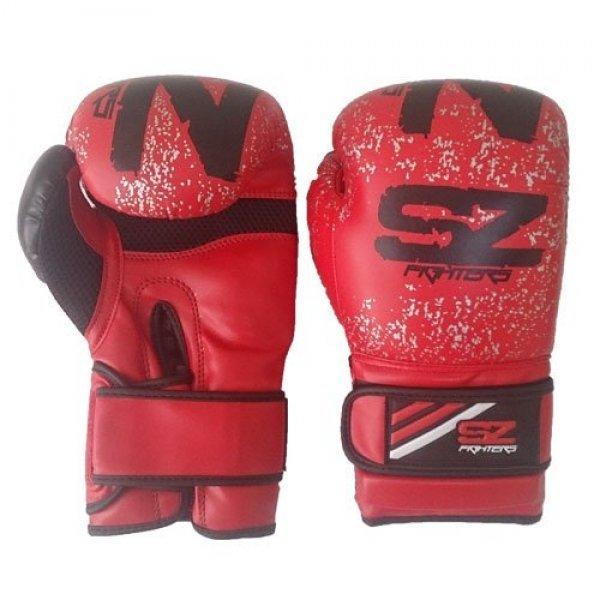 Боксови ръкавици EVO Beast естествена кожа червениБоксови ръкавици EVO Beast червени