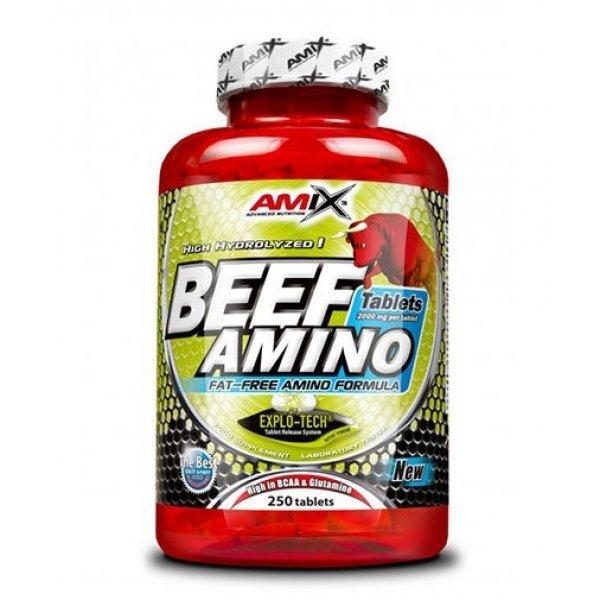 AMIX Beef Amino 250 таблетки AM131