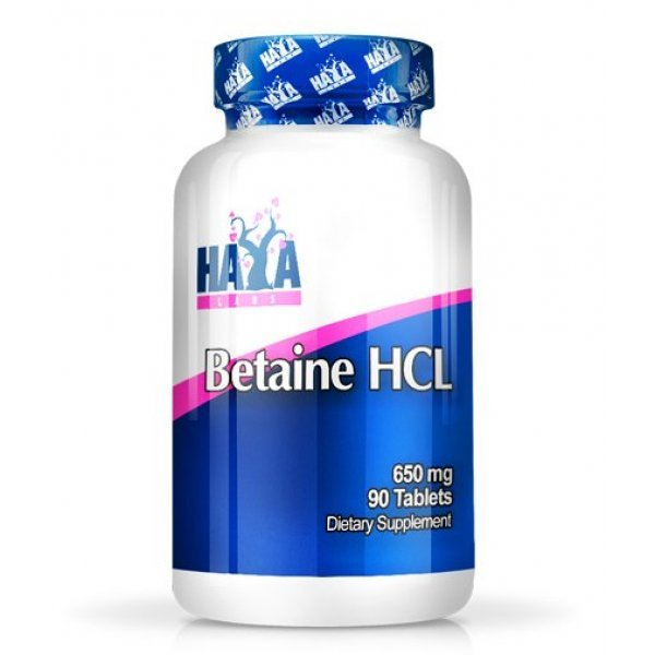 Haya Betaine HCL 650 мг 90 таблеткиHL966