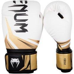 Боксови Ръкавици Challenger 3.0 VENUM, бял/черен/златист