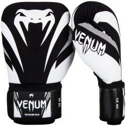 Боксови Ръкавици Impact Venum, Черен/Бял