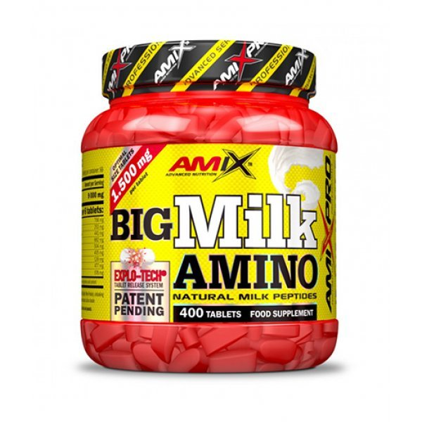 AMIX Big Milk Amino 400 таблетки AM54