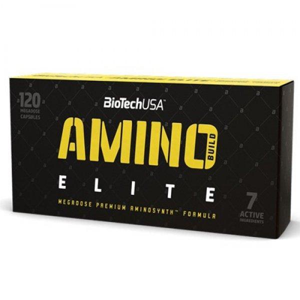 BIOTECH USA Amino Build Elite 120 капсули BT291
