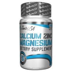 Biotech Calcium Zinc Magnesium 100 таблетки