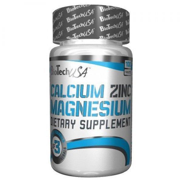 Biotech Calcium Zinc Magnesium 100 таблеткиBT319
