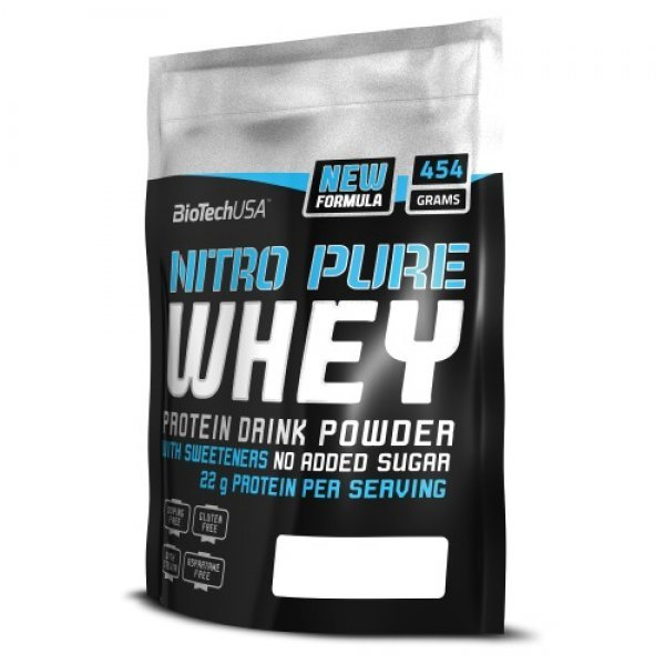 Biotech Nitro 100% PURE WHEY 454 гр. BT415