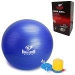 Фитнес гимнастическа топка Armageddon Sports, 65 см, СинARM051-Blue1