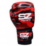 Боксови Ръкавици Camo SZ Fighters Red, естествена кожаSZ0192