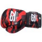Боксови Ръкавици Camo SZ Fighters Red, естествена кожаSZ0195