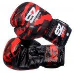 Боксови Ръкавици Camo SZ Fighters Red, естествена кожаSZ0194