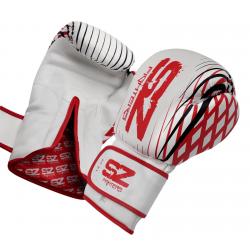 Боксови Ръкавици Plasma SZ Fighters Red, естествена кожа