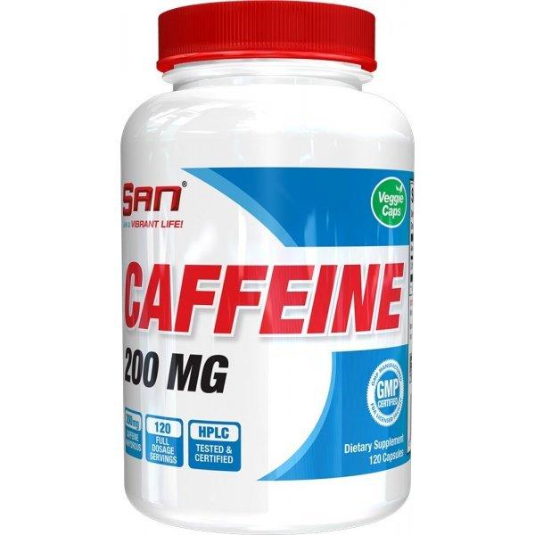 SAN Caffeine Anhydrous 120 капсулиSAN Caffeine Anhydrous 120 капсули