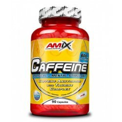 AMIX Caffeine with Taurine 90 капсули
