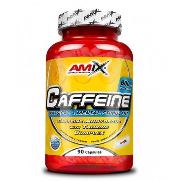 AMIX Caffeine with Taurine 90 капсулиAM135