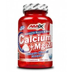 AMIX Calcium + Mg & Zn 100 таблетки
