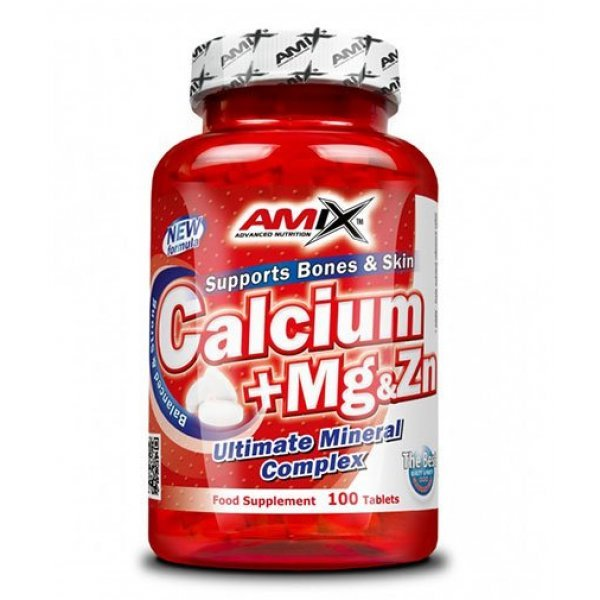 AMIX Calcium + Mg & Zn 100 таблетки  AM136